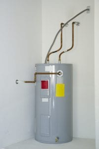 hot water installation by plumber